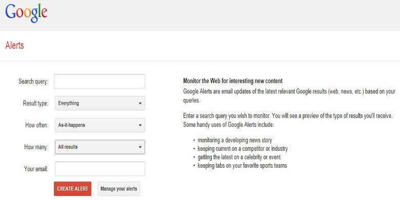 Monitor Your Portfolio - How to Monitor Your Stock Portfolio with Google Alerts